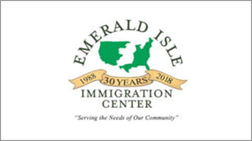 Emerald Isle Immigration Center logo