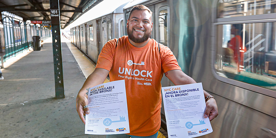 More Than 2,000 New Yorkers in the Bronx Enroll in NYC Care